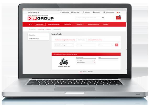 KSR Dealerspace Onlineshop