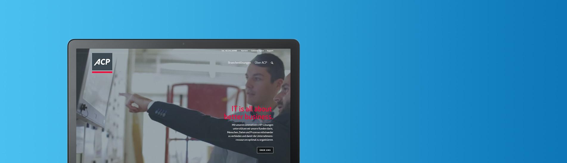 Slider Referenz ACP Website