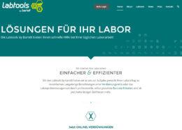 Bartelt Labtools Website Startseite