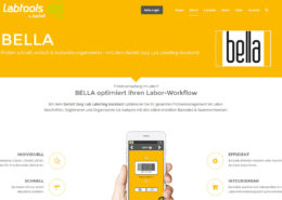 Bartelt Labtools Website Bella