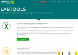 Bartelt Labtools Website Kontakt