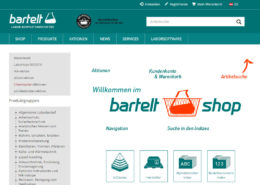 Bartelt GmbH Website und Onlineshop Shop