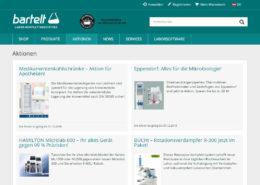 Bartelt GmbH Website und Onlineshop