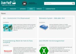 Bartelt GmbH Website und Onlineshop Services