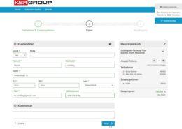 Online Buchungssystem Buchung2