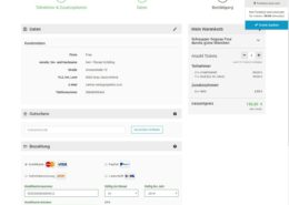 Segway Online Buchungssystem Zahlung
