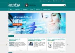 Startseite Website Onlineshop Bartelt gmbH